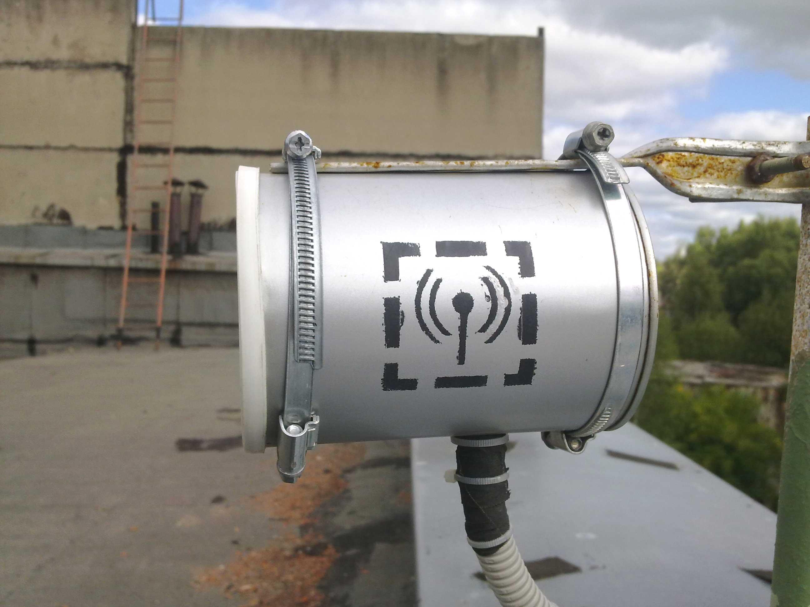 Баночная антенна для 3g модема